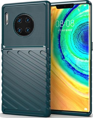 Чехол для Huawei Mate 30 Pro (Mate 30 RS) цвет Green (зеленый), серия Onyx от Caseport
