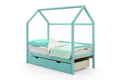 Кровать-домик «Svogen мятный»