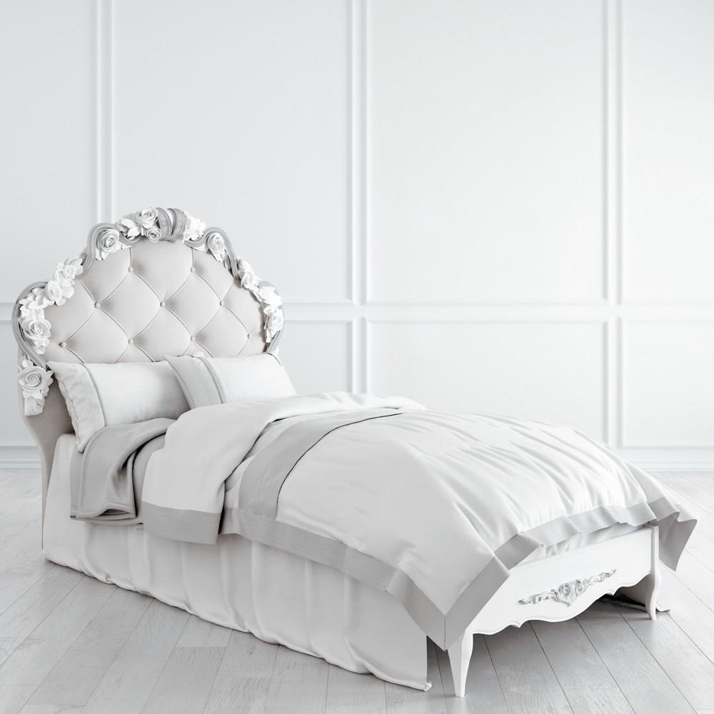 Кровать с мягким изголовьем 90*190