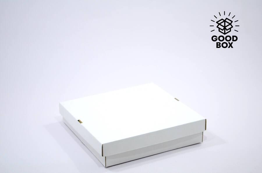 Белая крафт коробка купить в Алматы