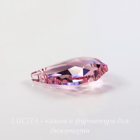 6090 Подвеска Сваровски Baroque Light Rose (22х15 мм) ()