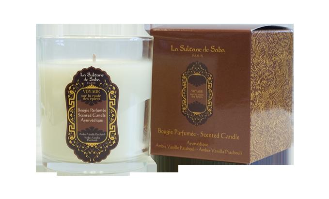 Свеча ароматическая LA SULTANE de SABA Аюрведическая