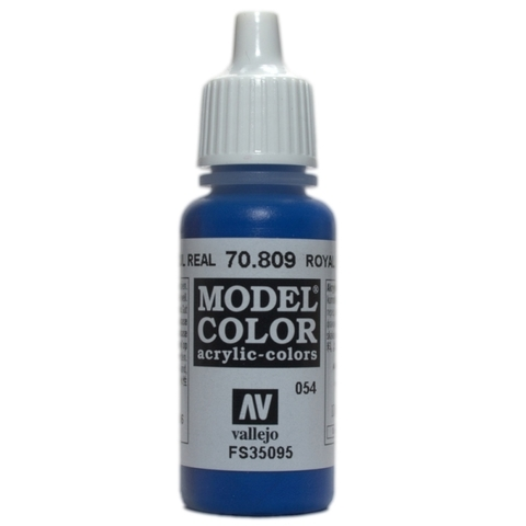 Model Color Royal Blue 17 ml.