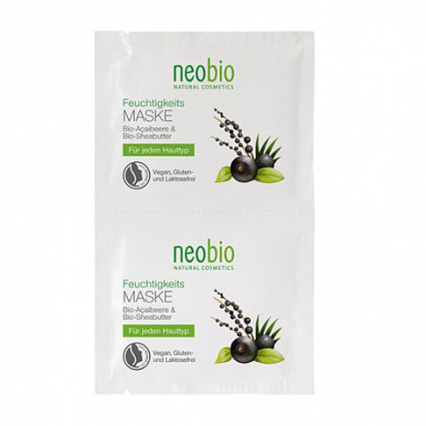 Neobio, Увлажняющая маска для лица, 15мл