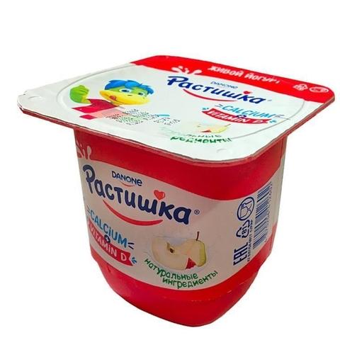 Йогурт РАСТИШКА Яблоко Груша 3% 100 г Danone КАЗАХСТАН