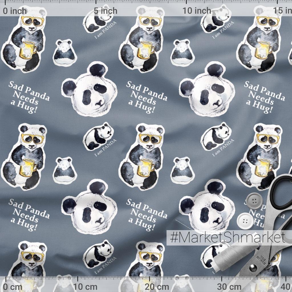 Панда наклейки