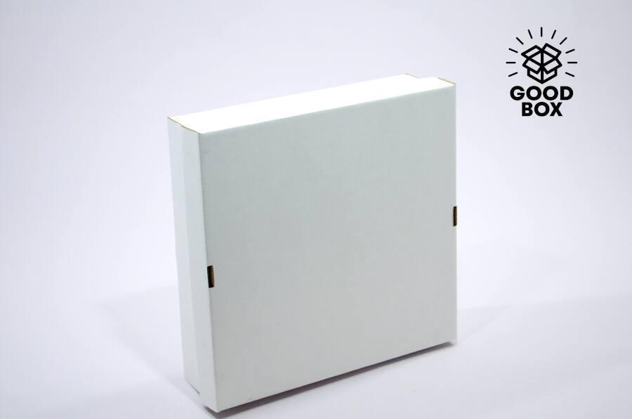 Крафт коробка белая купить в Казахстане