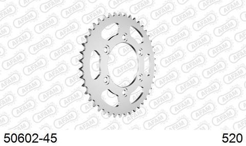 50602-45 звезда задняя DUCATI 900 Supersportt, Monster, SP3 Superbike (ведомая) стальная, 520, AFAM (JTR735.45)