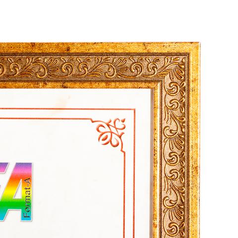 Фоторамка Ажур 15х21 Формат-А (бронза)