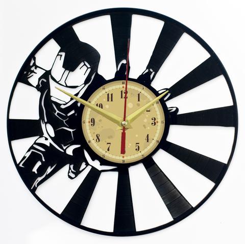 Железный человек Часы из Пластинки — Супергерой комикса