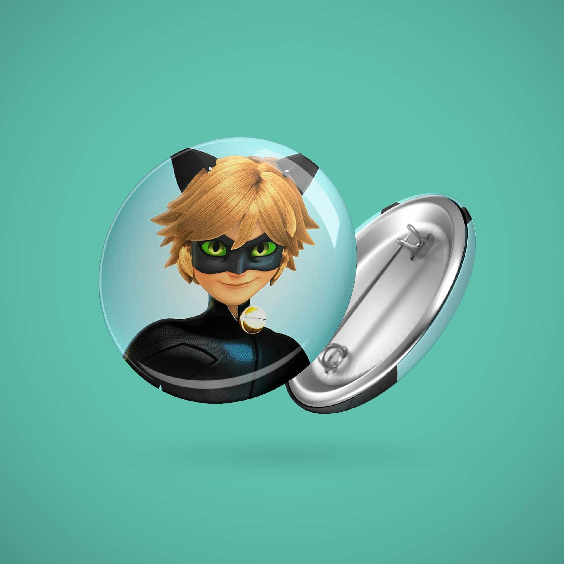 Большой значок с Супер Котом - купить в интернет-магазине kinoshop24.ru