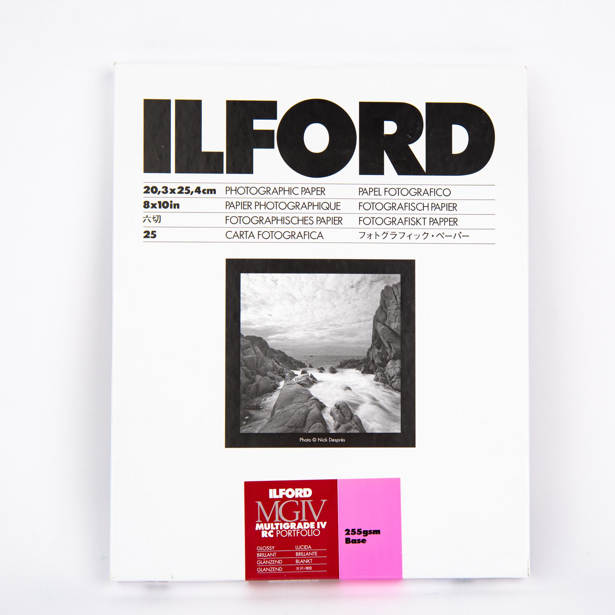 Фотобумага Ilford PFOLIO1K, глянцевая, 20x25.4 см, 25 л.