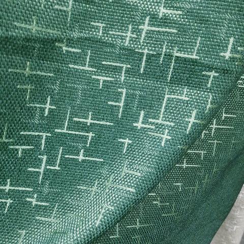 Блэкаут рогожка Штрихи зеленые оптом и на отрез. Ш-280 см. Арт. BLDJ-R210R