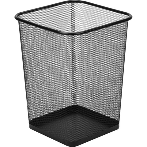 Корзина для мусора Attache 17 л металл черная (26.8х26.8х35.5 см)