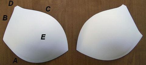 Чашки корсетные АС-66