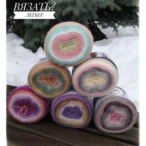 Пряжа Angora Lux Color Nako