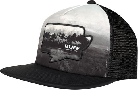 Кепка с прямым козырьком Buff Trucker Cap Sendel Black фото 1
