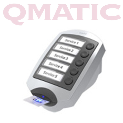 Qmatic TP Button