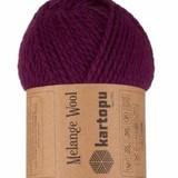 Пряжа Kartopu Melange Wool арт. 729 фиолетовый