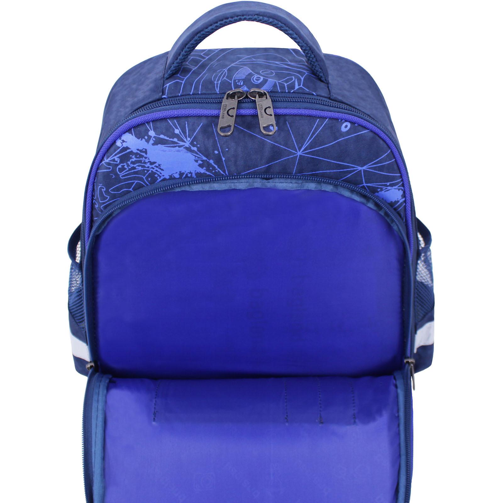 Рюкзак школьный Bagland Mouse 225 синий 248к (0051370) фото 4