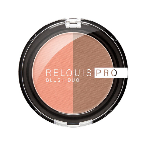 Румяна компактные Relouis Pro Blush Duo тон 203