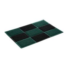 Коврик пористый, черно-зеленый, 40*60 см