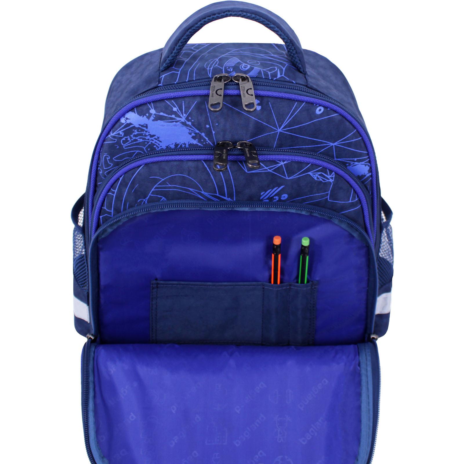 Рюкзак школьный Bagland Mouse 225 синий 248к (0051370) фото 5