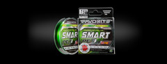 Шнур Favorite Smart PE 3X 150m (light green) #0.8/0.153mm 6.8kg