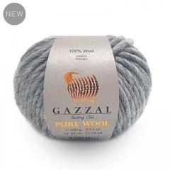 GAZZAL PUREWOOL (100% Австралийская шерсть, 100гр/65м)