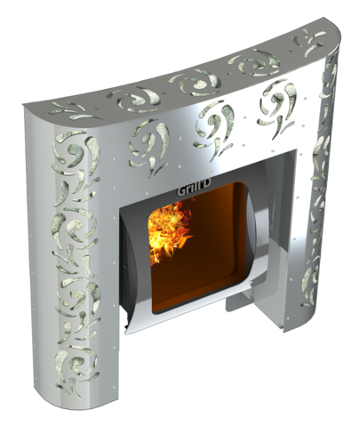 Декоративный экран Violet Steel Max
