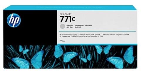 Оригинальный картридж струйный HP B6Y14A 771C светло-серый