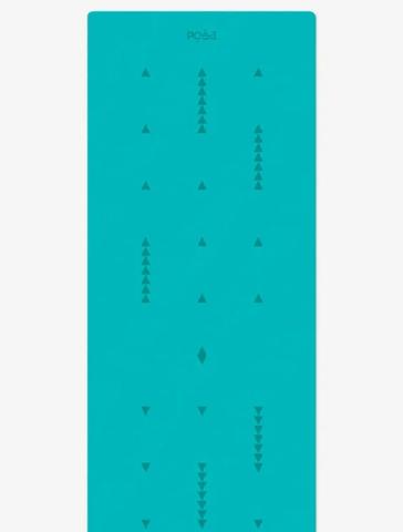 Коврик для йоги с разметкой Align Emerald Motion 183*61*0,6 см
