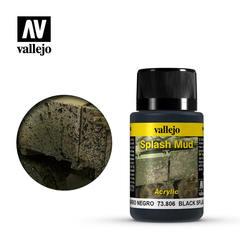 Weathering Effects 40ml. Wet Black Splash Mud