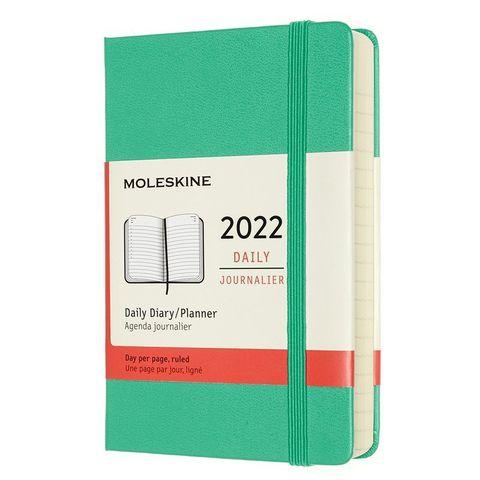 Ежедневник Moleskine (DHK4612DC2) Classic Pocket 90x140мм 400стр. мятный