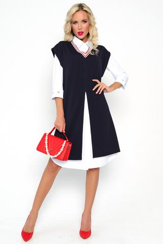<p><span>Благодаря Вашим положительным отзывам мы постоянно улучшаем качество пошива и предлагаем Вашему вниманию новые трендовые модели. Костюм от ELZA- хит сезона 2021 года. Удобная в носке удлинённая рубашка подчёркивает строгий и женственный образ. Чёрный классический жилет помогает скрыть все недостатки фигуры. Рукава на модели застегиваются на пуговицы, благодаря этому, Вы можете самостоятельно удлинять их. V-образный вырез отлично дополняет темный жилет. Такой костюм может легко стать повседневной одеждой для похода на работу. Благодаря качественной ткани, Вы не будете потеть. Комфорт и лёгкость - это единственное, что Вы будете ощущать в данной одежде. Так же, данный женский костюм можно носить отдельно. Жилет отлично впишется под рубашку любого цвета или однотонную футболку. Ранней осенью Вы не будете мерзнуть, так как ткань сама по себе достаточно тёплая. Пошив производится на Российской фабрике, поэтому не имеет специфических запахов. Наслаждайтесь качеством и комфртом!</span></p>
