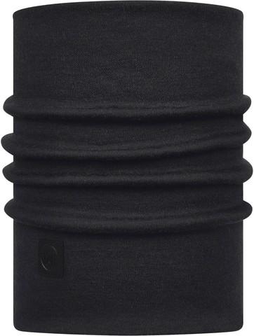 Теплый шерстяной шарф-труба Buff Black фото 1