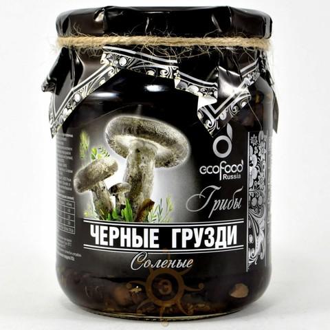 Грибы грузди черные соленые Ecofood, 520г