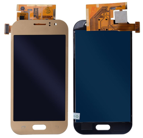 LCD SAMSUNG J1 ACE J110 + Touch Gold Orig MOQ:5