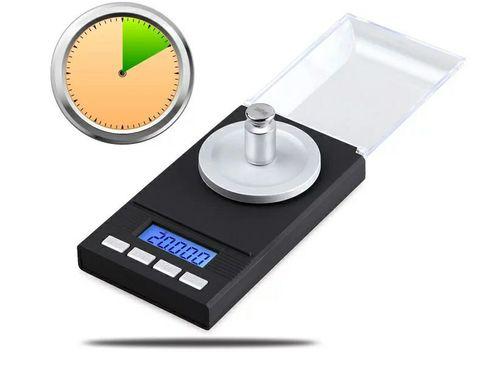 Высокоточные электронные весы до 100 грамм, с точностью 0,001