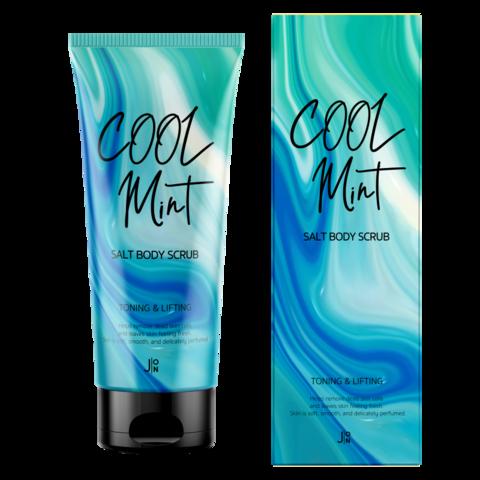 Скраб для тела ПОДТЯГИВАЮЩИЙ Cool Mint Salt Body Scrub, 250 гр