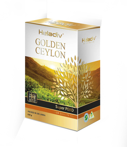 Чай листовой Heladiv Golden Ceylon super pekoe 100 гр