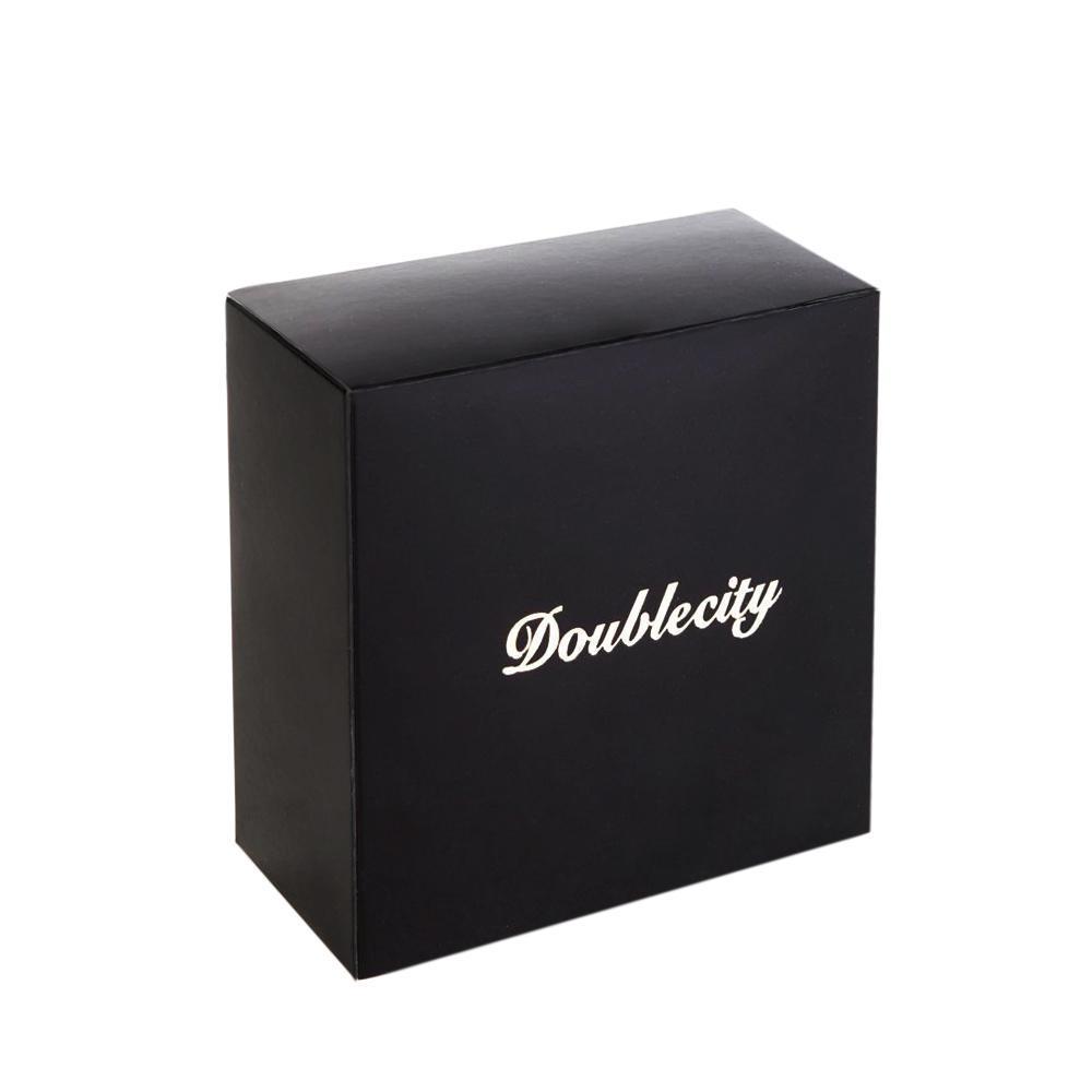 Ремень для брюк чёрный Doublecity RC34-07-01