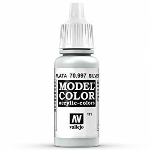 Model Color Silver 17 ml.