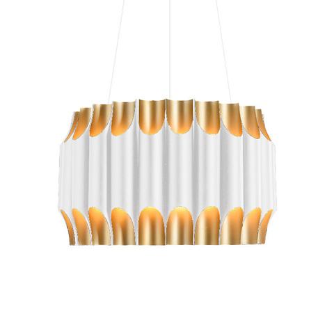 Подвесной светильник копия Galliano by Delightfull D60 (белый)
