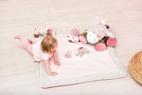 Мягкая игрушка Nattou Soft Toy Nina, Jade & Lili 75 см