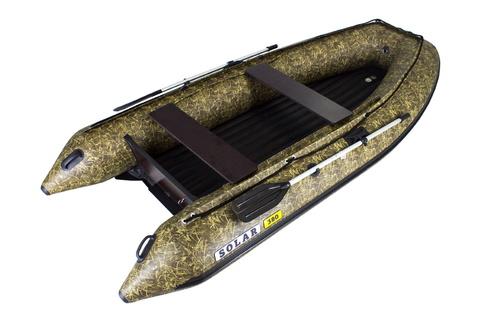 Надувная ПВХ-лодка Солар - 380 Jet Tunnel (камыш)
