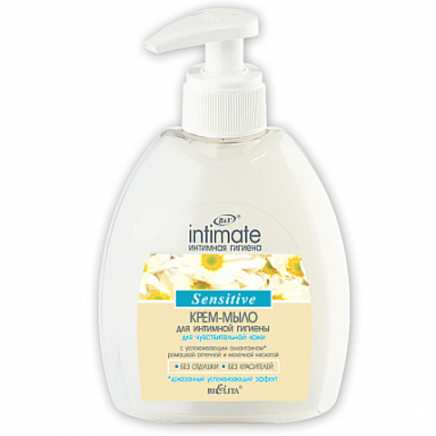 Белита Intimate Крем-мыло для чувствительной кожи 300