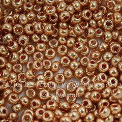18305 Бисер 6/0 Preciosa Металлик медно-золотистый