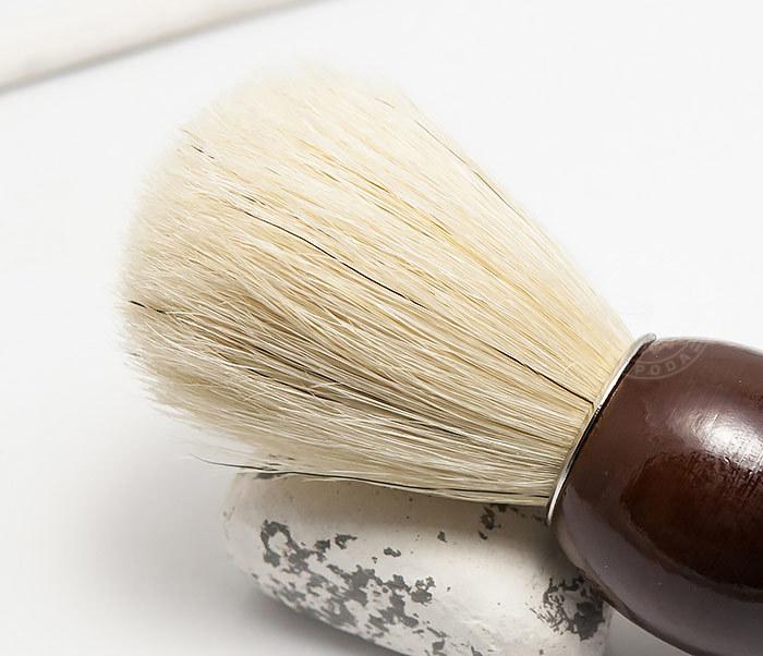 RAZ302-2 Деревянный помазок из щетины кабана фото 03