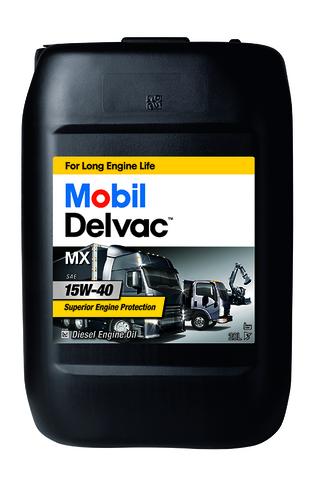 Масло моторное минеральное (20л) / MOBIL DELVAC MX 15W-40 20L АРТ: 152737